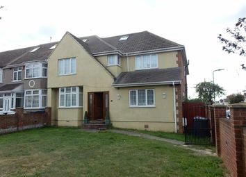 Thumbnail 6 bed end terrace house to rent in Burns Avenue, Southall, Middlesex