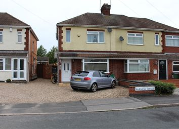 Thumbnail 2 bed semi-detached house to rent in Fairview Avenue, Whetstone, Leicester