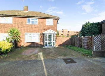Thumbnail 3 bed semi-detached house for sale in Laurel Close, Ilford