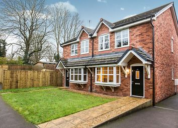 Thumbnail 3 bed semi-detached house for sale in Bridestones Place, Congleton
