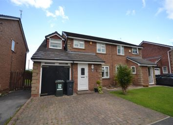 Thumbnail 4 bed semi-detached house for sale in Ashbourne Close, Great Sutton, Ellesmere Port