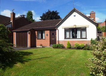 Thumbnail 3 bedroom detached bungalow for sale in Fox Road, Castle Donington, Derby