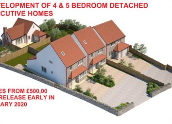 Thumbnail 4 bedroom detached house for sale in Harcombe Hill, Winterbourne Down, Bristol