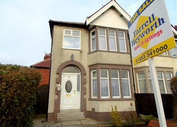 Thumbnail 3 bedroom property for sale in Penrose Avenue, Blackpool