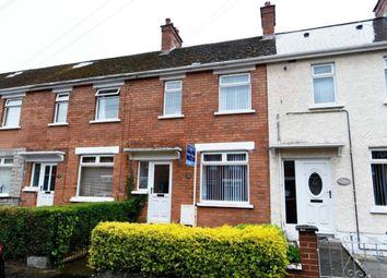 Thumbnail 3 bed terraced house for sale in Strandburn Park, Sydenham, Belfast