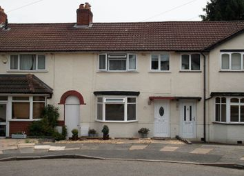 Thumbnail 3 bed terraced house for sale in Lanchester Road, Kings Norton, Birmingham