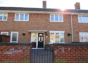 Thumbnail 3 bed terraced house for sale in Warnett Road, Norwich