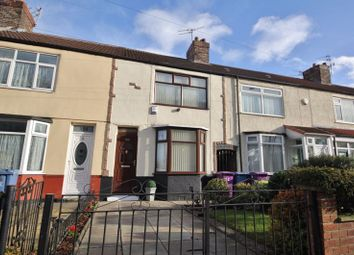 Thumbnail 3 bed terraced house for sale in Rathbone Road, Wavertree, Liverpool