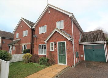 Thumbnail 3 bed terraced house to rent in Soames Close, Stowmarket, Suffolk