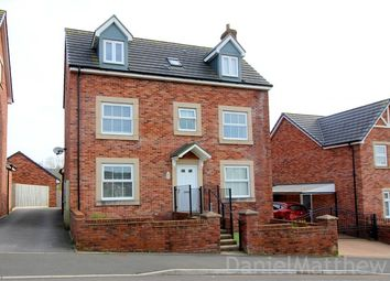 Thumbnail 4 bed detached house for sale in Cae Rhedyn, Coity, Bridgend County.