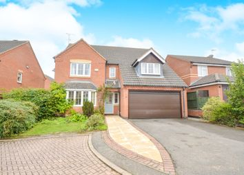 Thumbnail 4 bed detached house for sale in Kingston Way, Market Harborough