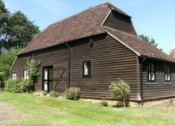 Thumbnail 2 bed property to rent in Sychem Lane, Five Oak Green, Tonbridge