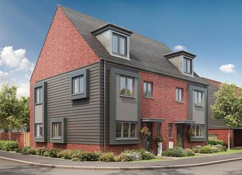 "Thumbnail 4 bed semi-detached house for sale in ""The Leicester"" at Eclipse, Sittingbourne Road, Maidstone"