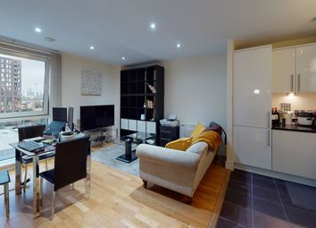Thumbnail 1 bedroom flat to rent in Wharfside Point South, London