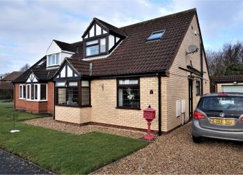 Thumbnail 3 bed detached bungalow for sale in Cotham Gardens, Keelby