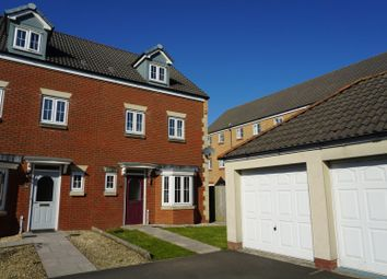 Thumbnail 4 bed end terrace house for sale in Ffordd Y Gamlas, Llanelli