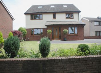 Thumbnail 6 bed detached house for sale in Heol Dulais, Birchgrove, Swansea.