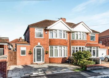 Thumbnail 3 bed semi-detached house for sale in Abingdon Road, Urmston, Manchester, Greater Manchester