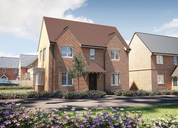 "Thumbnail 3 bedroom detached house for sale in ""The Staunton"" at Roman Road, Bobblestock, Hereford"