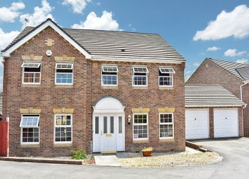 Thumbnail 4 bed detached house for sale in Pant Poeth, Broadlands, Bridgend.
