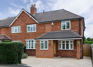 Thumbnail 4 bed semi-detached house for sale in Christchurch Lane, Lichfield