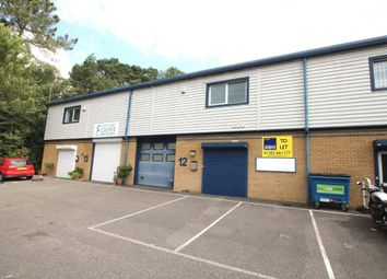 Thumbnail Warehouse to let in Unit 12 Glenmore Business Park, Poole