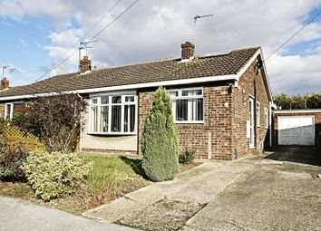 Thumbnail 2 bed semi-detached bungalow for sale in Manderville Close, Hedon, Hull