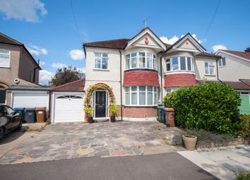 Thumbnail 3 bed semi-detached house for sale in Fernbrook Drive, North Harrow, Middlesex