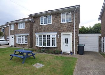 Thumbnail 3 bed detached house for sale in Island Close, Hayling Island