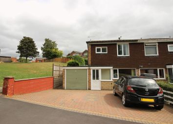 Thumbnail 3 bed semi-detached house for sale in Fernwood Drive, Leek, Staffordshire