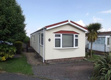 Thumbnail 2 bed mobile/park home for sale in Countryside Farm Park, Church Lane, Upper Beeding, Steyning