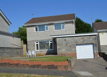 Thumbnail 4 bed detached house for sale in High View Gardens, Swansea