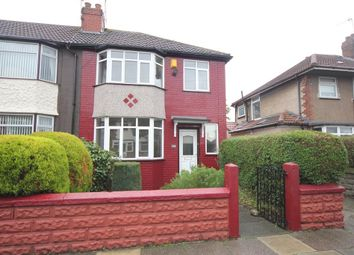 Thumbnail 3 bed end terrace house to rent in Pitville Avenue, Mossley Hill, Liverpool, Merseyside