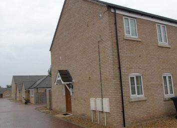 Thumbnail 2 bed flat to rent in Fox Wood North, Soham