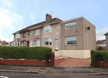 Thumbnail 3 bed end terrace house for sale in Hillsborough Road, Garrowhill, Glasgow, Lanarkshire