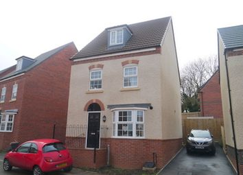 Thumbnail 4 bed detached house to rent in Pritchard Drive, Kegworth