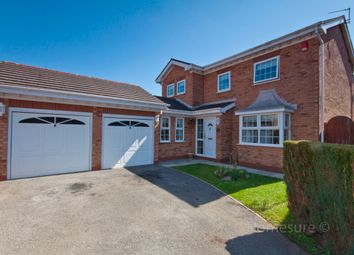 Thumbnail 4 bed detached house for sale in Blackberry Grove, Halewood, Liverpool, Merseyside