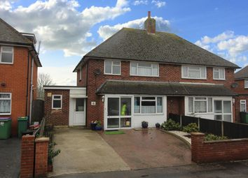 Thumbnail 3 bed semi-detached house to rent in Canada Close, Cheriton, Folkestone, Kent