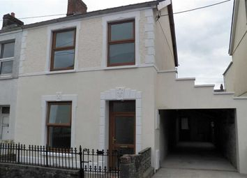 Thumbnail 3 bed semi-detached house for sale in Penuel Street, Carmarthen