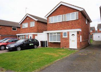 Thumbnail 3 bedroom detached house for sale in Keldy Close, Wolverhampton