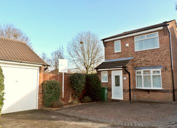 Thumbnail 3 bedroom detached house to rent in Eton Close, The Meadows, Stafford