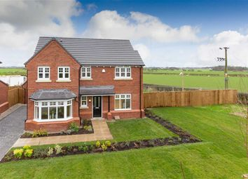 Thumbnail 4 bed detached house for sale in Manor Road, Inskip, Preston