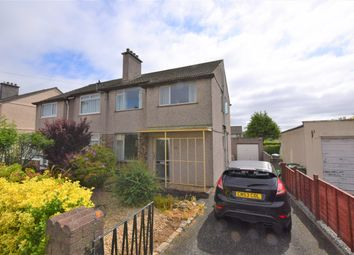 Thumbnail 3 bedroom semi-detached house for sale in Carnock Road, Plymouth