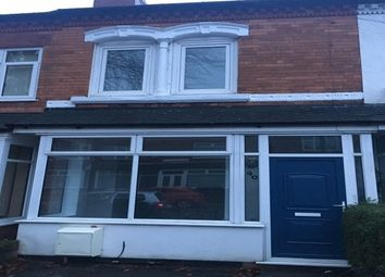Thumbnail 2 bed property to rent in Dean Road, Erdington, Birmingham