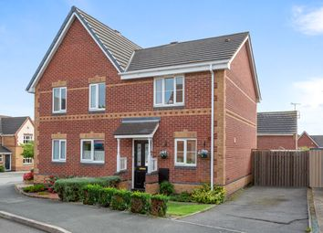 Thumbnail 2 bed semi-detached house for sale in Middle Close, Swadlincote