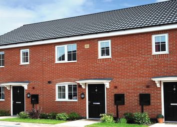 "Thumbnail 2 bed terraced house for sale in ""The Alnwick"" at Brookside, East Leake, Loughborough"