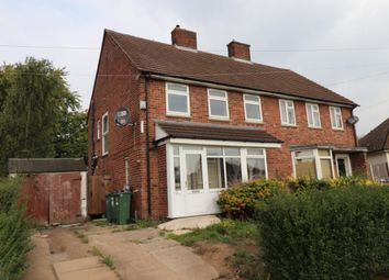 Thumbnail 3 bed semi-detached house for sale in Woodland Drive, Braunstone, Leicestershire