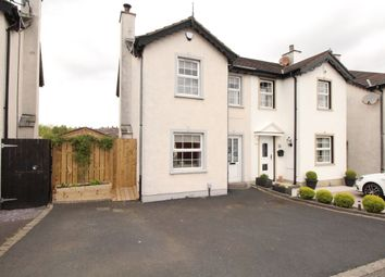 Thumbnail 3 bed semi-detached house for sale in Strone Park, Dundonald, Belfast