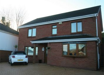 Thumbnail 4 bed detached house for sale in Bryngelli Park, Treboeth, Swansea