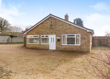Thumbnail 2 bedroom detached bungalow for sale in West Head Road, Stow Bridge, King's Lynn